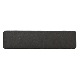 Obrazek Taśma antypoślizgowa, plastyczna gruboziarnista czarna - arkusz 140x140mm, paczka po 10 szt.