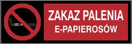 Obrazek dla kategorii Zakaz Palenia E-Papierosów (209-15)