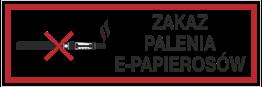 Obrazek dla kategorii Zakaz Palenia E-Papierosów (209-16)