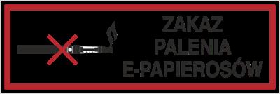Zakaz Palenia E-Papierosów (209-16)