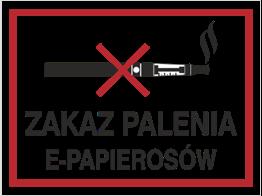 Obrazek dla kategorii Zakaz Palenia E-Papierosów (209-19)