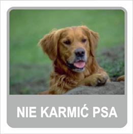 Obrazek dla kategorii Nie karmić psa (823-169)