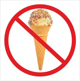 Obrazek dla kategorii Zakaz wchodzenia z lodami (823-172)