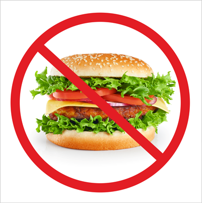 Zakaz wchodzenia z jedzeniem (823-173)