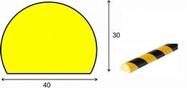 profil elastyczny typ C, do ochrony powierzchni, długość 1000 mm cena za odcinek