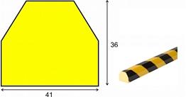 profil elastyczny typ CC, do ochrony powierzchni, długość 5000 mm cena za odcinek