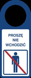 Obrazek dla kategorii Proszę nie wchodzić (807-105)