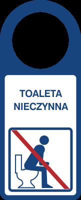 Zawieszka Toaleta nieczynna (807-109)