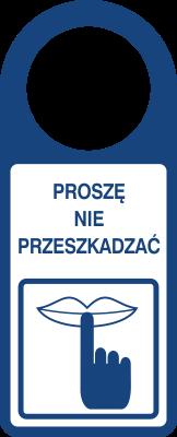 Proszę nie przeszkadzać (807-112)
