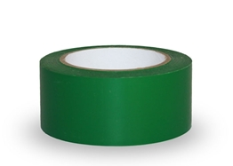 Obrazek Taśma ostrzegawcza samoprzylepna, 5cm x 33m  - PCV, zielona