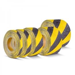 Obrazek dla kategorii Taśmy antypoślizgowe łatwozmywalne żółto-czarne Easy Clean R10