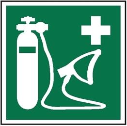 Obrazek dla kategorii Znak Resuscytator tlenu (E28)
