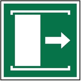 Obrazek dla kategorii Znak Przesunąć w prawo aby otworzyć (E33)