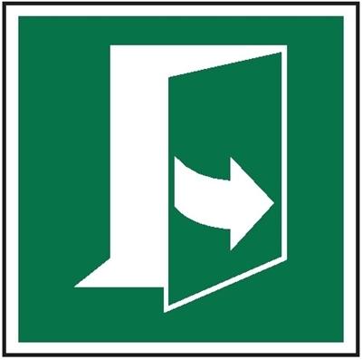 Znak Ciągnąć z lewej strony aby otyworzyć (E57)