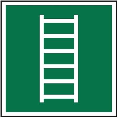 Znak Drabina ewakuacyjna (E59)