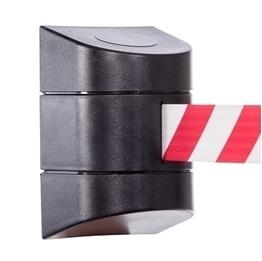 Taśma Biało/Czerwona Montaż Regał (do nogi regałowej )Montaż ścienny (śruby)