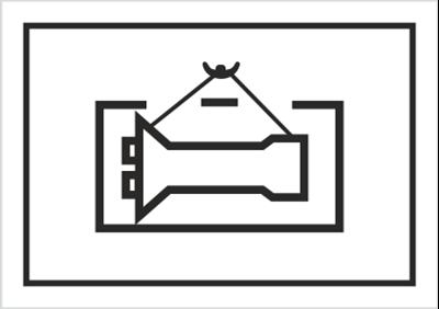 Podnosić bezpośrednio za ładunek (701-05)