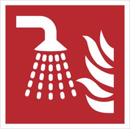 Obrazek dla kategorii Znak aplikator mgły wodnej wg PN-EN ISO 7010 (F11)