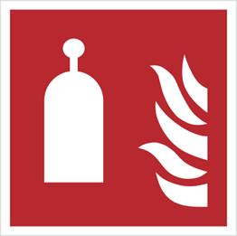 Obrazek dla kategorii Znak stanowisko zdalnego uwalniania wg PN-EN ISO 7010 (F14)