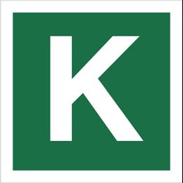Obrazek dla kategorii Znak Stacja ewakuacyjna K (120-33)