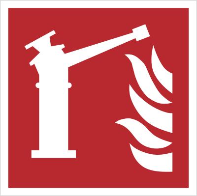 Znak Działko gaśnicze (F15)