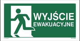 Wyjście ewakuacyjne w lewo (E01-WE)