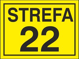 Obrazek dla kategorii Znak Strefa 22 (828-15)