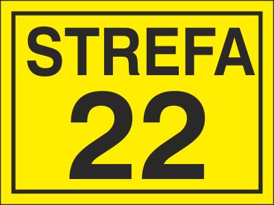 Znak Strefa 22 (828-15)
