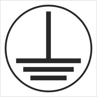 Znak Uziemienie (215-20)