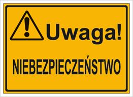 Obrazek dla kategorii Uwaga! Niebezpieczeństwo (319-23)