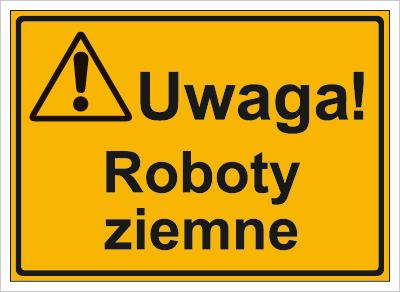Uwaga! Roboty ziemne (319-33)