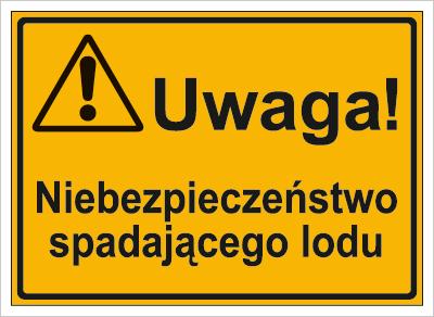 Uwaga! Niebezpieczeństwo spadającego lodu (319-37)