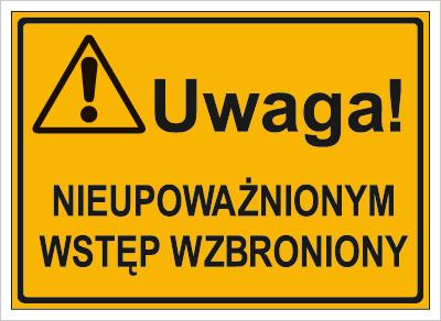 Uwaga! Nieupoważnionym wstęp wzbroniony (319-40)
