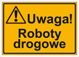Obrazek dla kategorii Uwaga! Roboty drogowe (319-42)
