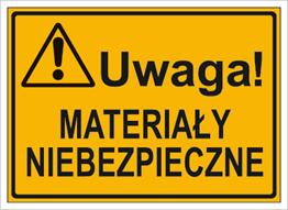 Obrazek dla kategorii Uwaga! Materiały niebezpieczne (319-71)