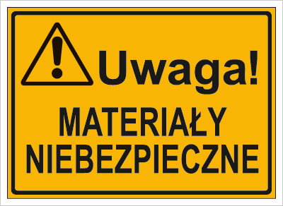 Uwaga! Materiały niebezpieczne (319-71)