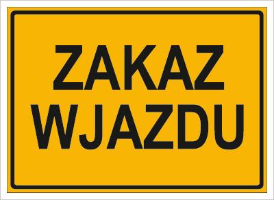 Zakaz wjazdu (319-82)