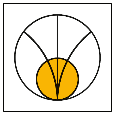 Oznakowanie strefy pośredniej promieniowania elektromagnetycznego (390-02)