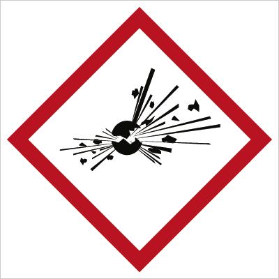 Znak Substancja wybuchowa (700-23)