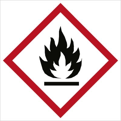 Znak Substancja łatwopalna (700-25)