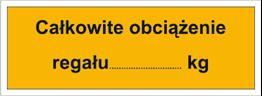 Obrazek dla kategorii Całkowite obciążenie regału: …kg (853-07)