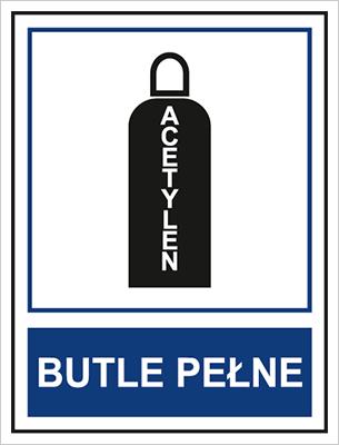 Butle pełne. Acetylen (869-02)