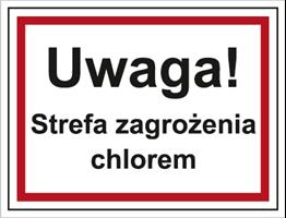 Obrazek dla kategorii Uwaga! Strefa zagrożenia chlorem (815-07)