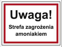 Obrazek dla kategorii Uwaga! Strefa zagrożenia amoniakiem (815-09)