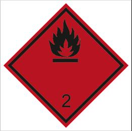 Obrazek dla kategorii Znak Gazy palne (215-01)
