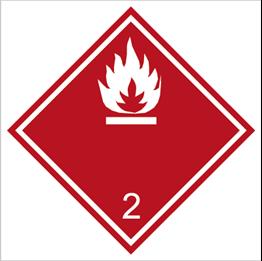Obrazek dla kategorii Znak Gazy palne (215-09)