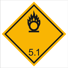 Obrazek dla kategorii Znak Materiały utleniające (215-13)