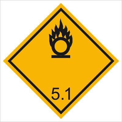 Znak Materiały utleniające (215-13)