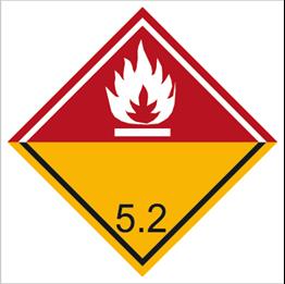 Obrazek dla kategorii Znak Nadtlenki organiczne (215-44)