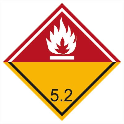 Znak Nadtlenki organiczne (215-44)
